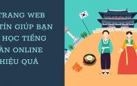 5 trang web uy tín học tiếng Hàn online